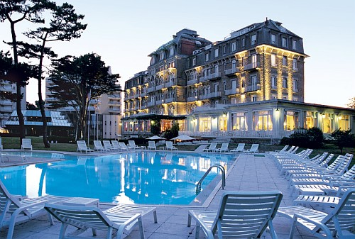 H tel royal thalasso barri re la baule france in the for Hotels la baule