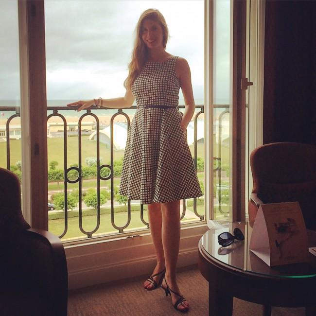 Mon avis sur l h tel royal barri re de deauville in the for Chambre hotel normandie