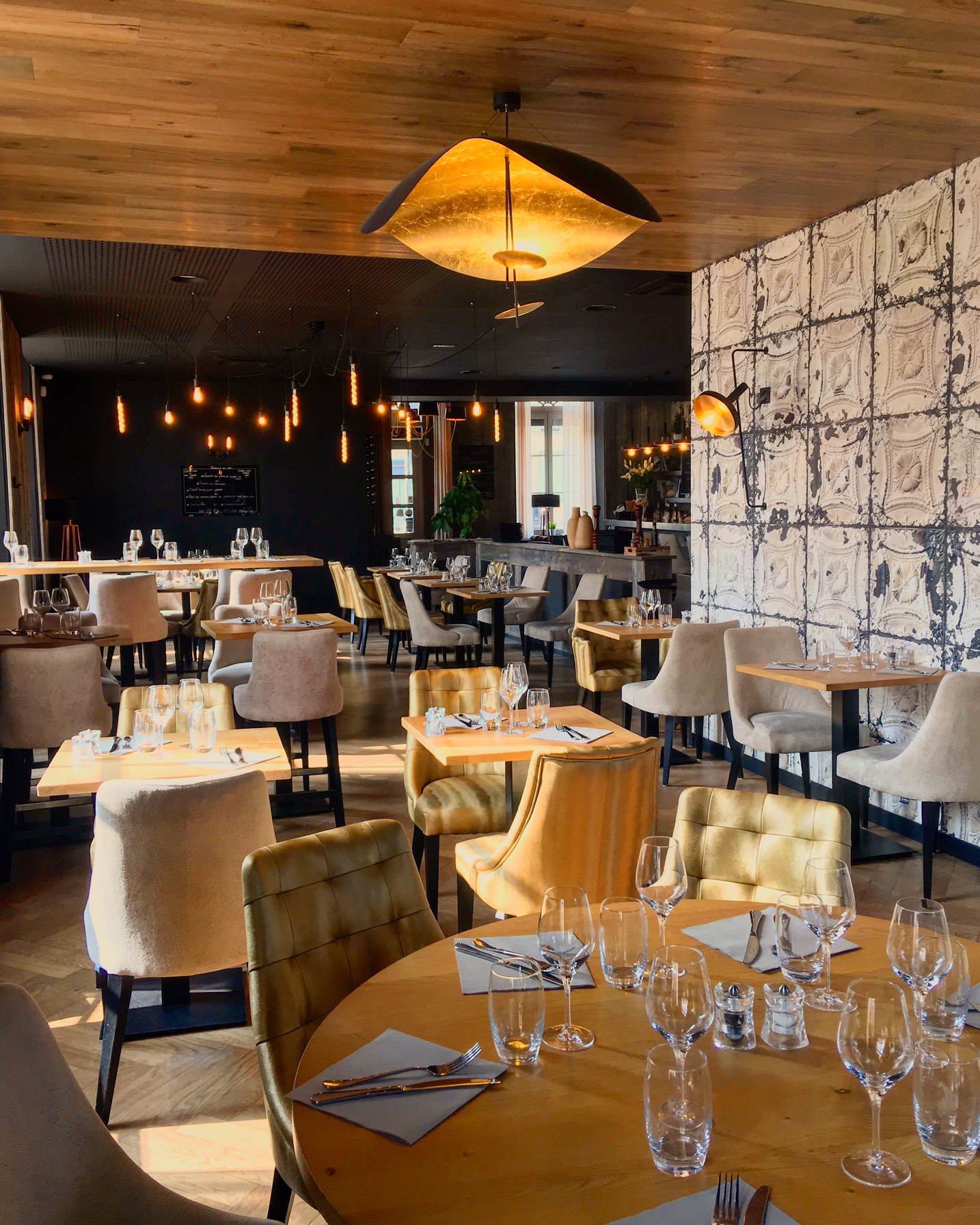 BRASSERIES IN THE MOOD FOR LUXE